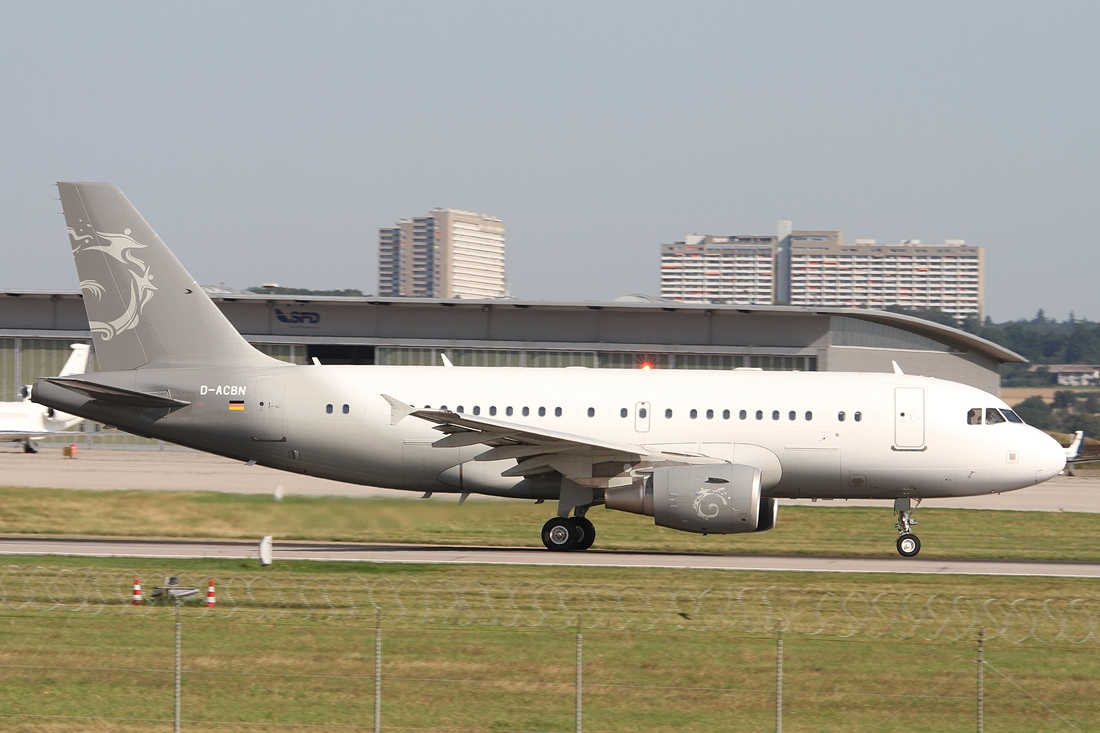 DC Aviation Airbus A319-115X(CJ) D-ACBN