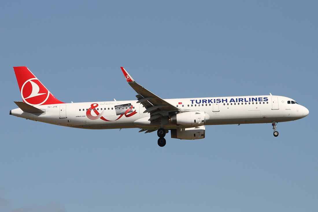 Turkish Airlines Airbus A321-231 TC-JTE
