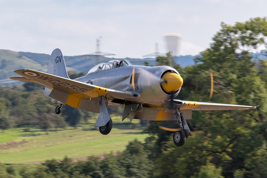 G-INVN<br />Hawker Sea Fury T.20