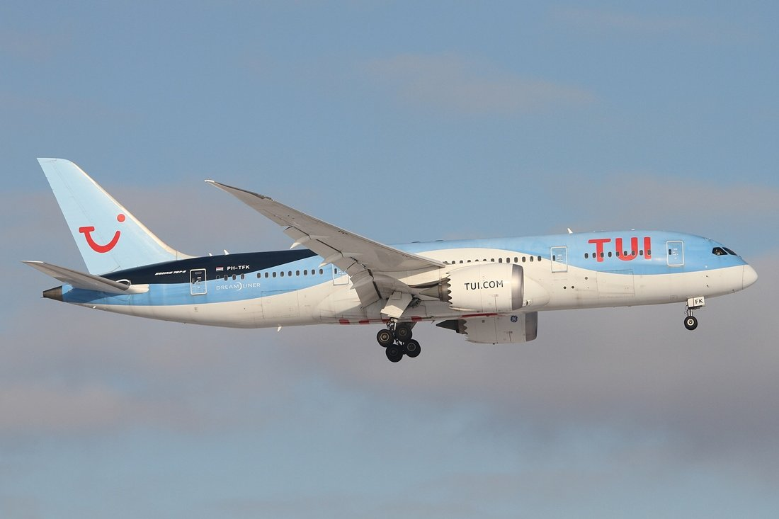 Boeing 787-8 Dreamline PH-TFK