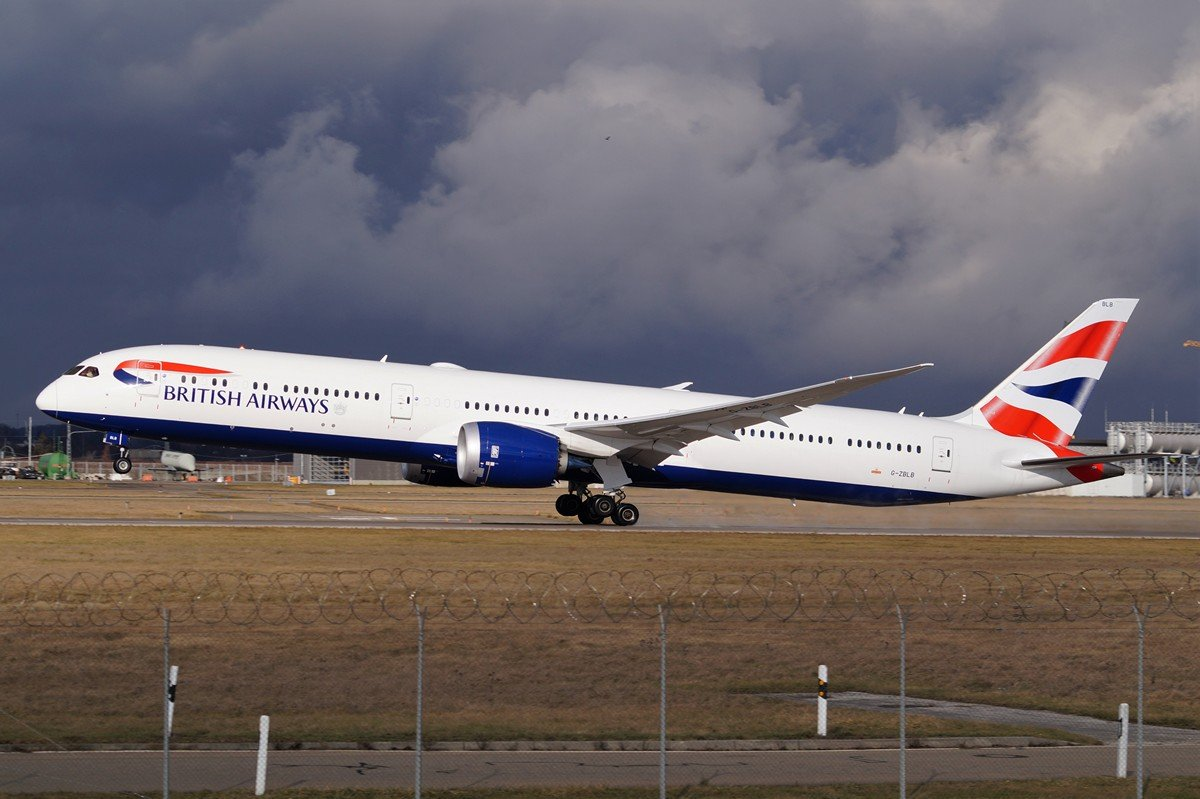 G-ZBLB       787-10      British Airways
